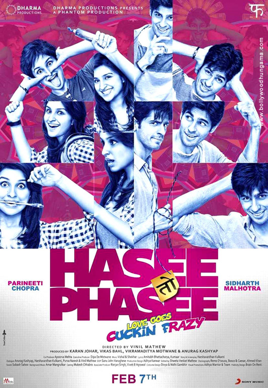 Hasee Toh Phasee Cover