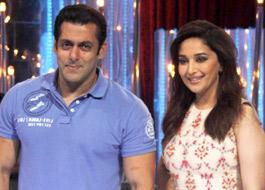 Salman, Madhuri defend their performance at Saifai