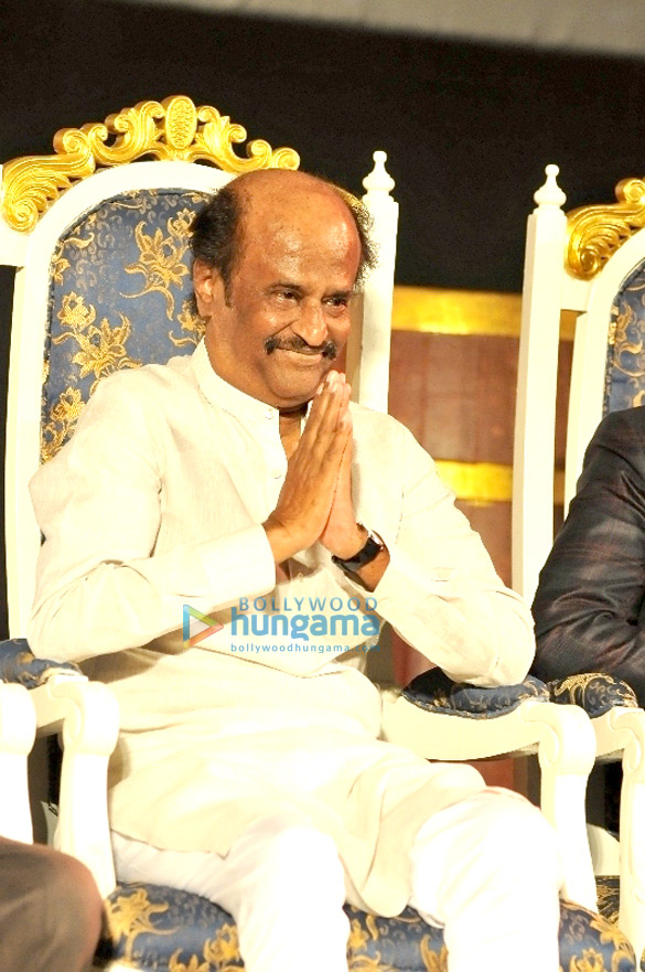 Audio release of 'Kochadaiiyaan'