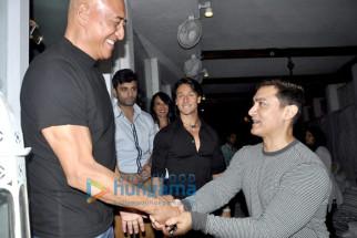 Danny Denzongpa, Tiger Shroff, Aamir Khan