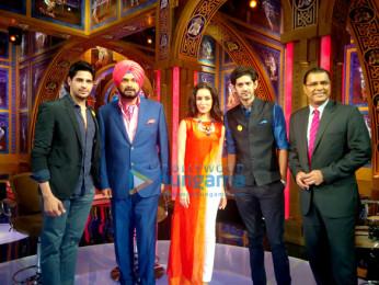 Sidharth Malhotra, Navjot Singh Sidhu, Shraddha Kapoor, Gaurav Kapur