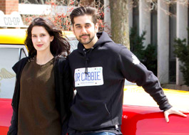 Vinay 'Dr. Cabbie' Virmani visits Canadian schools, introduces Isabelle Kaif