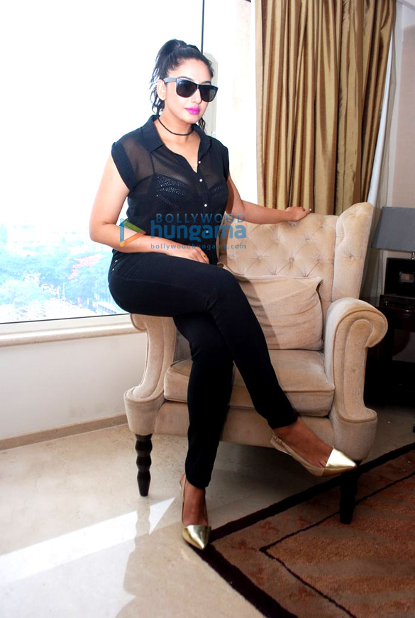 Ragini Dwivedi's photoshoot for the film 'Amma'