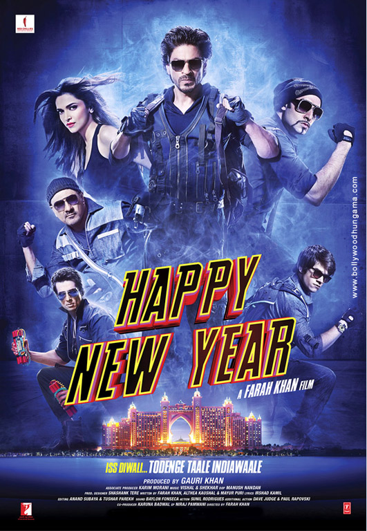 Happy New Year Poster Images Photos Wallpapers Bollywood Hungama