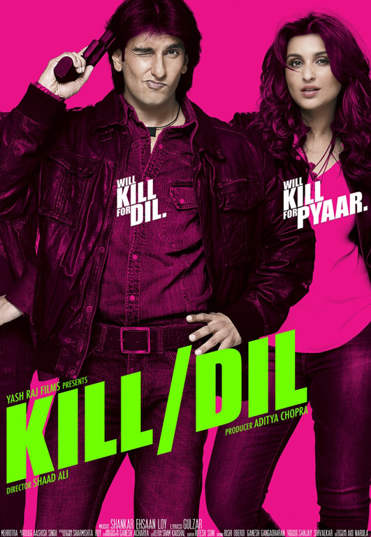 Kill Dil Cover