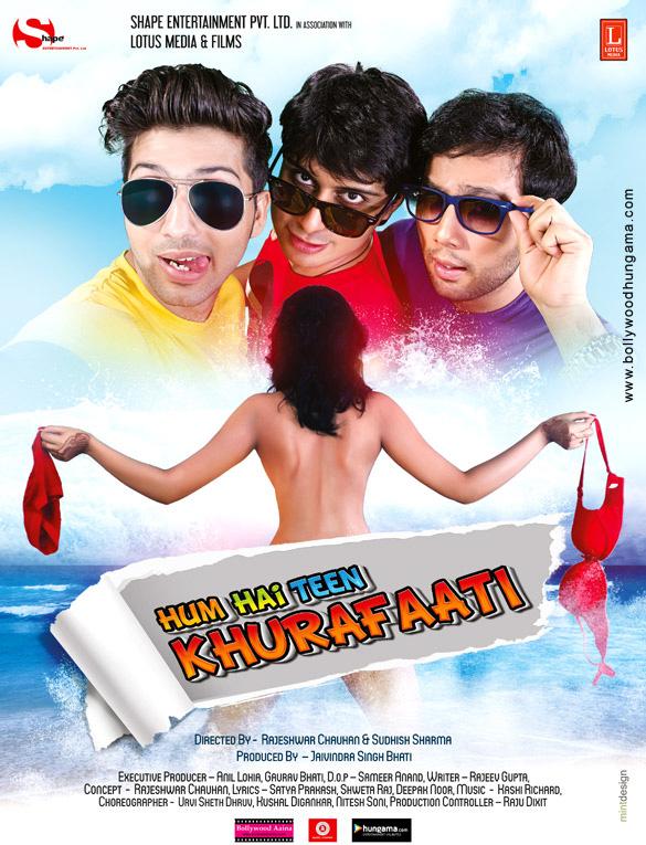 download the Hum Hai Teen Khurafaati full movie