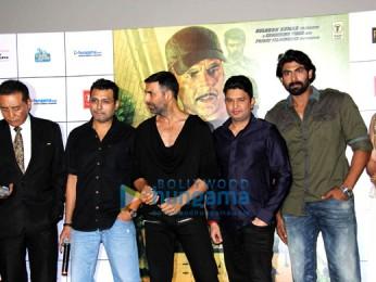 Danny Denzongpa, Neeraj Pandey, Akshay Kumar, Bhushan Kumar, Rana Daggubati, Tapsee Pannu