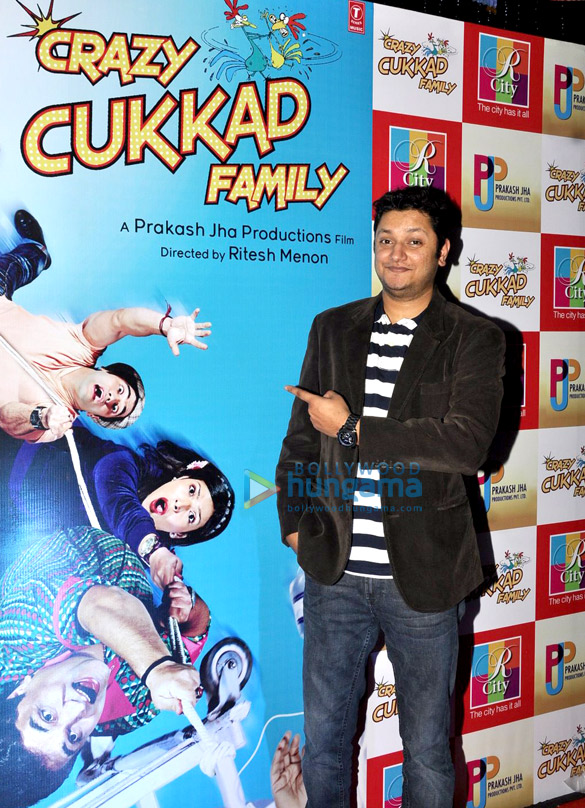 Musical promotion of 'Crazy Kukkad Family' at R City Mall