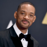 "CORRECTS DATE OF LATIN GRAMMYS TO NOV 19 - FILE - In this Nov. 14, 2015 file photo, Will Smith arrives at the Governors Awards at the Dolby Ballroom in Los Angeles. Smith and Colombian band Bomba Estereo will perform ""Fiesta (Remix)"" at the Latin Grammys on Thursday, Nov. 19, in Las Vegas. (Photo by Jordan Strauss/Invision/AP, File)"