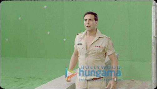 'Behind the Scenes' VFX making of Khiladi 786