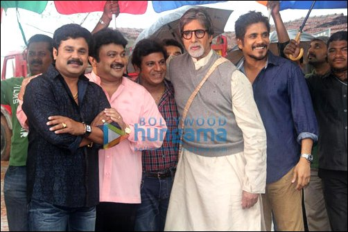 Amitabh shoots for Kalyan Jewelers ad with South stars