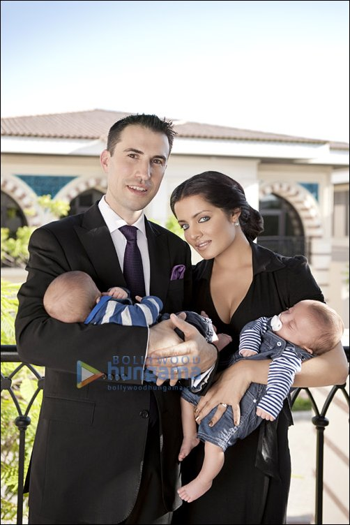 Celina on her twins, hubby Peter and the joy of motherhood