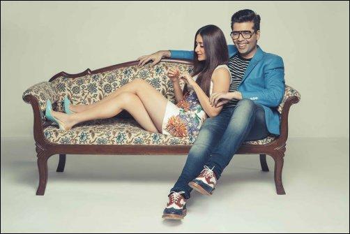 Check out: Kareena Kapoor and Karan Johar in Harper's Bazaar
