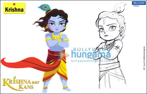 krishna aur kans is produced on flash and after effects ashish