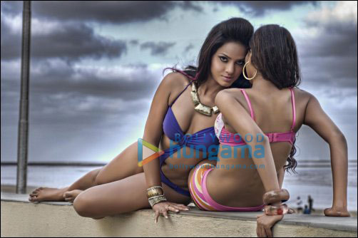 Neetu Chandra's most sensual pictures in the latest issue of The Man