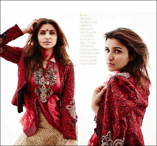 Check out: Parineeti Chopra on the cover of Bridal Mantra
