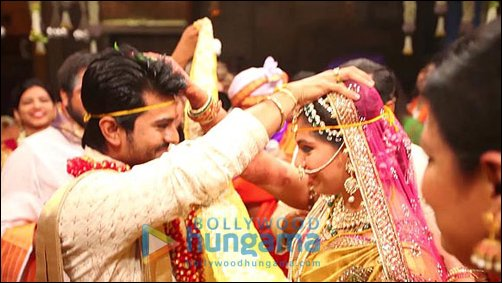 Check out: Ram Charan's wedding ceremony