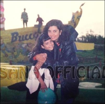 Flashback: Sana Saeed on sets of Kuch Kuch Hota Hai