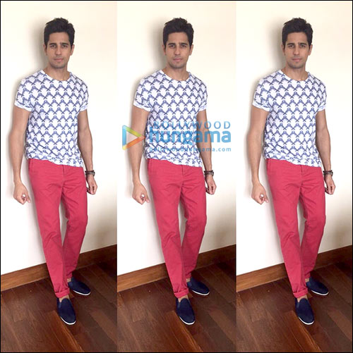 Check Out: Sidharth Malhotra's top 5 looks during Brothers promotions
