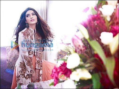Sonam Kapoor in Shehla Khan's Spring-Summer collection