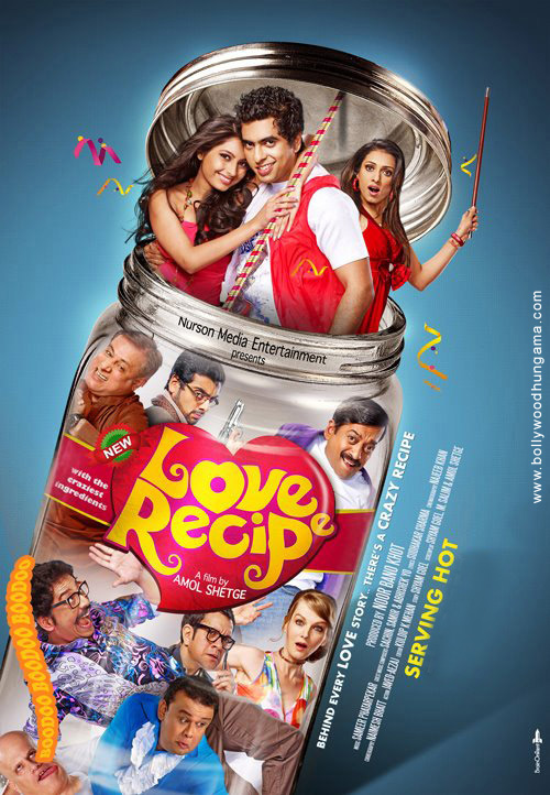 First Look Of The Movie Love Recipe