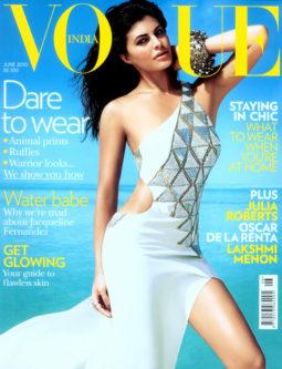 Jacqueline Fernandez On The Cover Of Vouge,June 2010