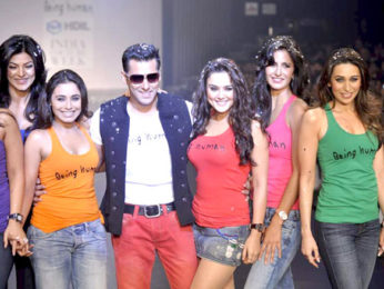 a00698b5a8eed Salman s Being Human show at HDIL India Couture Week 2010