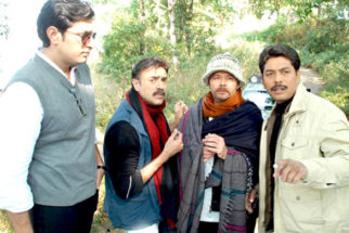 Movie Still From The Film Gumshuda,Priyanshu Chatterjee,Rajit Kapoor,Raj Zutshi