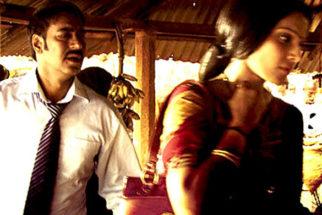 Movie Still From The Film Aakrosh,Ajay Devgn,Bipasha Basu
