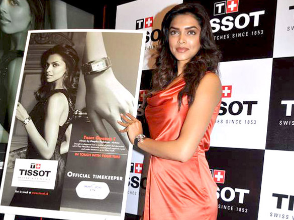Deepika Padukone launches new Tissot watches