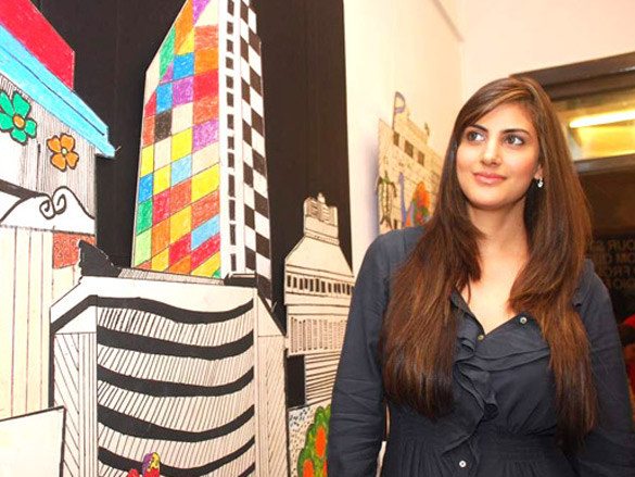 Perizaad Kolah at NGO art event