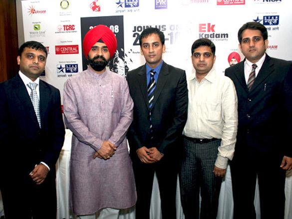 Press conference of 'Ek Kadam'
