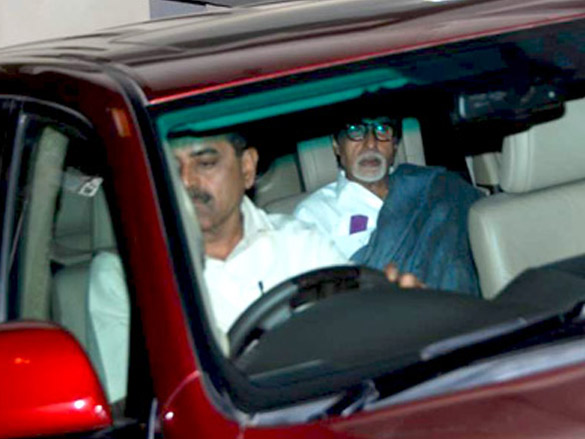 Big B meets Rajkumar Hirani