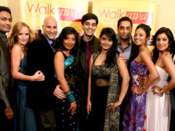 Photo Of Samrat Chakrabarti,Carrie Anne James,Sanjeev Jhaveri,Deepti Gupta,Manu Narayan,Ami Sheth,Pallavi Sharda,Manish Dayal From The Premiere of 'Walkaway'