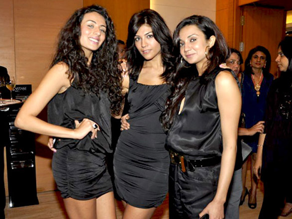 Ira Dubey and Pia Trivedi at Kerastase Chronologiste launch
