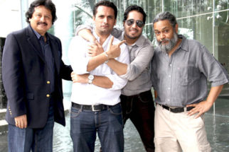 Photo Of Pankaj Udhas,Jai Kalra,Mika Singh,Rahul Ram From The Mika, Pankaj Udhas and Indian Ocean at press meet