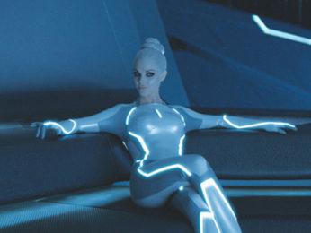 Movie Still From The Film Tron: Legacy,Beauu Garett
