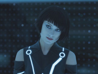 Movie Still From The Film Tron: Legacy,Olivia Wilde