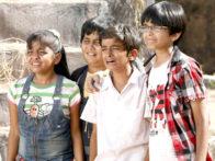 Movie Still From The Film Bhoot And Friends,Markand Soni,Tejas Rahate,Ishita Panchal,Akash Nair