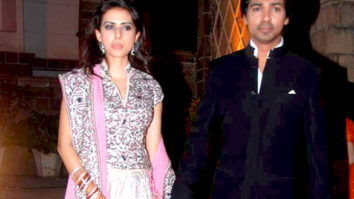 Photo Of Gauri Pandit,Nikhil Dwivedi From The Celebs grace Nikhil Dwivedi's wedding reception