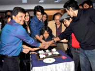 Photo Of Asit Kumarr Modi,Roshni Chopra,Manish Paul,Rakesh Bedi,Prasad Barve,Vishal Kotian From The Celebration party of 'Pyaar Me Twist'