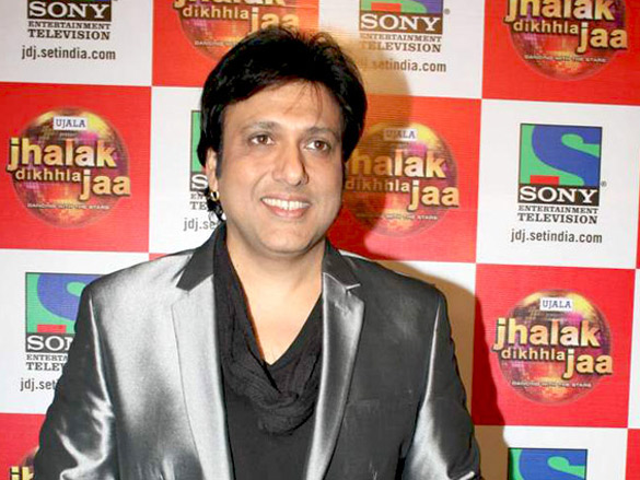 Govinda and Malaika on the sets of 'Jhalak Dikhhla Jaa'