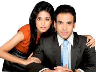 Movie Still From The Film Love U... Mr. Kalakaar!,Amrita Rao,Tusshar Kapoor