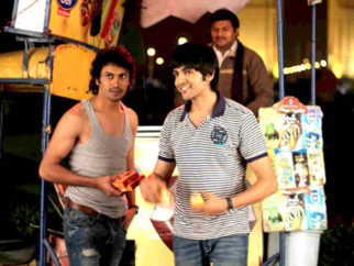 Movie Still From The Film Pyaar Ka Punchnama,Rayo Bhakhirta,Kartikeya Tiwari