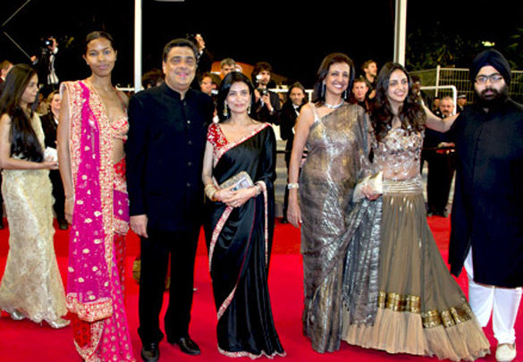 Photo Of Ronnie Screwvala,Zarine Mehta,Trishya Screwvala From The Screening of the documentary 'Bollywood: The Greatest Love Story Ever Told' at 64th Annual International Cannes Film Festival
