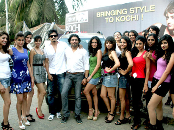 Kochi International Fashion Week 2011 auditions