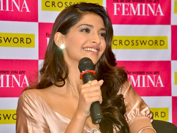 Sonam Kapoor at Femina mag launch