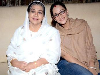 Photo Of Farida Jalal,Rakshanda Khan From The Launch party of 'Ammaji Ki Galli'