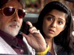 Movie Still From The Film Bbuddah...Hoga Terra Baap,Amitabh Bachchan,Charmi