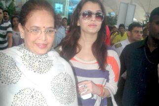 Photo Of Vrinda Rai,Aishwarya Rai From The Ash and Abhishek return from Delhi